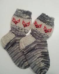 Kuvahaun tulos haulle kettu sukat lapselle