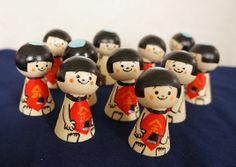 ハンドペイント金太郎 Kintarō is a folk hero from Japanese folklore. A child of superhuman strength.Kintarō doll on Children's Day in the hope that boys will become equally brave and strong.