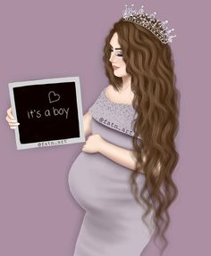 Pin by Yurany Castaño on muñecas in 2019 Girly M, Mother Daughter Art, Mother Art, Mother And Child, Sarra Art, Pregnancy Art, Bff Drawings, Cute Couple Art, Foto Baby