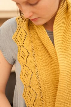 Beautiful scarf from Quince and Co.