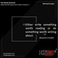 One of the simplest marketing methods in history. #mondayvibes #mondaythoughts #marketingthoughts #thoughtsoftheDay #marketing #monday #mondaymotivational #bulksms #smsmarketing #marketingquote #hspsms #hspmedianetwork #marketingmethod #write #reading #writing #history Marketing Quotes, Media Marketing, Benjamin Franklin, Something To Do, Messages, Thoughts, Writing, Motivation, History