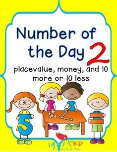 This product provides students who need practice with  and decomposing numbers using number bonds, place value, creating coin combinations, and 10 more or 10 less than a number.This product can be used to differentiate morning work for struggling 2nd gradersIt is aligned to the TEKS for 1st grade.