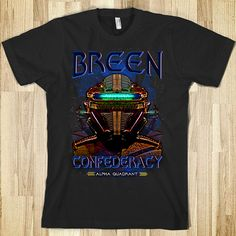 The Breen Confederacy T shirt (Thot Pran), at Redbubble http://www.redbubble.com/people/gus3141592/works/13425511-the-breen-confederacy