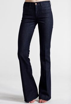 The MARRAKESH - MID RISE, KICK FLARE - Raw - MiH Jeans