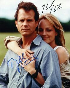 """Bill Paxton and Helen Hunt Autographs - """"Twister"""" Helen Hunt Movies, Bill Paxton Movies, Oklahoma Movie, Twister 1996, Movie Stars, Movie Tv, Tim Roth, Michelle Dockery, Great Tv Shows"""