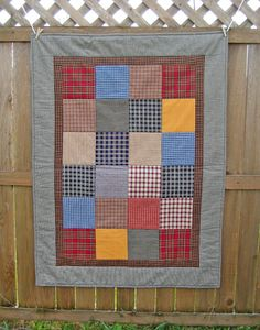 Primitive Small Quilt or Tablerunner.  via Etsy.