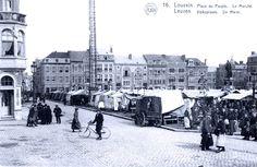 Leuven Ladeuzeplein na de wederopbouw van de jaren 20.