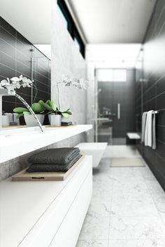 Marmorit võib ka kombineerida ühevärvilise plaadiga kui tundub, et marmorit saab muidu liiga palju