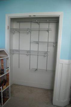 Inside the baby closet
