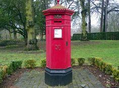 Victorian pillar box at Wardown Park, Luton by anemoneprojectors, via Flickr