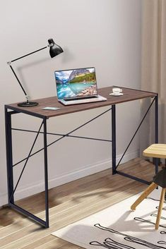 Small Desk Furniture for Students Kids Computer Apartment College Dorm Bedroom 701231220785 Kids Computer, Home Office Computer Desk, Small Office Furniture, College Apartments, Student Desks, Study Desk, Multifunctional, Stability, Tabletop