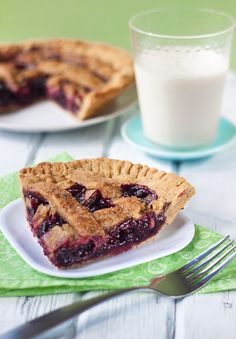 Raspberry Pie- I love raspberries and I love pie, so it's a wonder I have not made this myself yet!