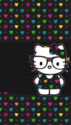 New wallpaper iphone love heart hello kitty ideas Wallpaper Iphone Love, Hello Kitty Wallpaper, Cute Wallpaper Backgrounds, Pink Wallpaper, Cute Wallpapers, Iphone Wallpapers, Keroppi Wallpaper, Desktop, Hello Kitty Themes