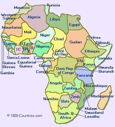 I want to go so many places in Africa, I long to go back to Kenya, I would love to go to Uganda and work with my former Children's Pastor. O would also love to go to Egypt, and many other locations in Africa. New Africa, Africa Map, East Africa, Africa Travel, Africa News, Tanzania, Kenya, Pretty Landscapes, Western Sahara