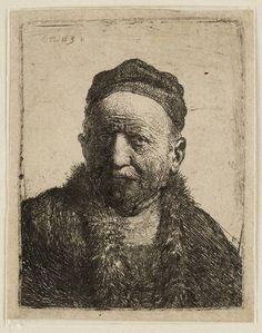 Mijn favoriete Rembrandt in Teylers Museum: Man met kalotje (B304)