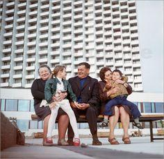 Poster DDR - Neptun-Hotel in Warnemünde 1972