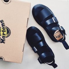 The Dr. Martens Gryphon Sandal #DrMartens #DrMartenStyle shared by @joelferdon