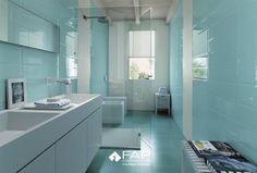 Merveilleux Modern Turquoise Tiles   Top 6 Colour Trends In Tiles 2010 Light Blue  Bathrooms, Blue
