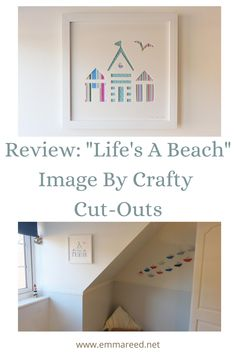 William has a lovely nautical nursery and I am always looking for more bits to add to it so when Crafty Cut-Outs asked us to review a print I jumped at the chance once I saw this stunning piece. Life's A Beach is just one of their amazing designs that are available on Etsy.