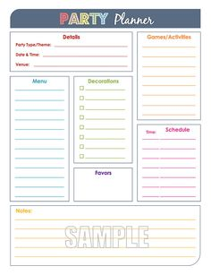 Bill Tracking Planner Insert Or Sticker  Perfect Fit For Ec