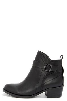 Good Choice Bed Rock Black Ankle Boots - Santa may have to bring these this year