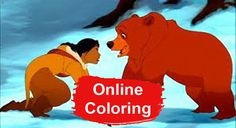 Share Brother Bear pictures to print and color More from my siteFinding Dory Coloring PagesBrother Bear Online Coloring PagesSing movie coloring pagesStorks Coloring PagesConstructions Coloring PagesMoana Coloring Pages Childhood Movies, Kid Movies, Disney Movies, Bear Coloring Pages, Online Coloring Pages, Kenai Brother Bear, Live Action, Disney Nerd, Disney Disney