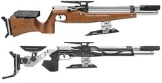 Have you seen the new line of FWB 800 air rifles? It includes some new guns for field target! One has a wooden stock, the other has an aluminum stock: http://www.pyramydair.com/s/m/Feinwerkbau_800_Basic_Field_Target_Air_Rifle/3500. http://www.pyramydair.com/s/m/Feinwerkbau_800X_Field_Target_Air_Rifle/3475.
