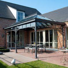 Covered Patio Design, Covered Pergola, Garden Room Extensions, Outside Room, Home Garden Design, Roof Structure, Outdoor Pergola, Outdoor Kitchen Design, Garden Structures