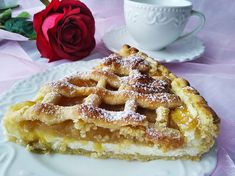 My Dessert, Dessert Recipes, Desserts, Apple Pie, Waffles, Food And Drink, Treats, Cooking, Breakfast