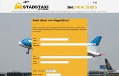 Boek direct uw taxi Ridderkerk-Schiphol €99 scherpe concurrende tarieven