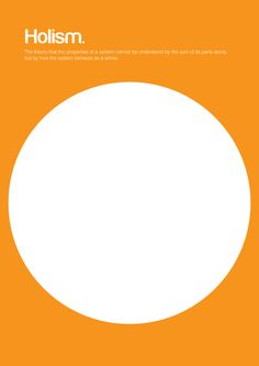Philographics, big ideas in simple shapes - Holism