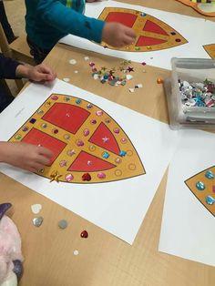 Zelfstandig werken - loose-parts Diy For Kids, Crafts For Kids, Advent, St Nicholas Day, Diy And Crafts, Arts And Crafts, Christmas Crafts, Christmas Decorations, Catholic Crafts