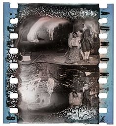 DECOMPOSED NITRATE FILM CLIPPINGS FROM THE TURCONI COLLECTION