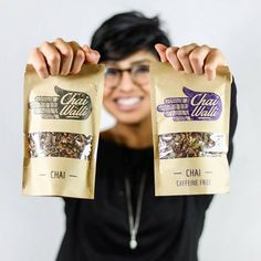 Chai Walli packaging - Kraft Window Stand Up Pouch Spices Packaging, Organic Packaging, Pouch Packaging, Packaging Stickers, Fruit Packaging, Food Packaging Design, Coffee Packaging, Packaging Design Inspiration, Brand Packaging