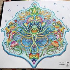 Star Coloring Pages, Coloring Book Art, Adult Coloring, Colouring, Johanna Basford Secret Garden, Secret Garden Coloring Book, Johanna Basford Coloring Book, Colored Pencil Techniques, Polychromos