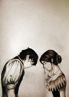 Will and Tessa ❤ The Infernal Devices ❤ probably one of my favourite fan arts ever!!!!