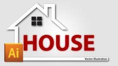 Speed Art - HOUSE Vector illustration