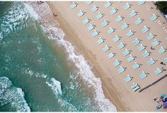 St Tropez Light Blue Umbrellas on OneKingsLane.com