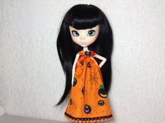 Special Sale Dress Halloween for Pullip Doll by elenamiklo on Etsy, $1.50