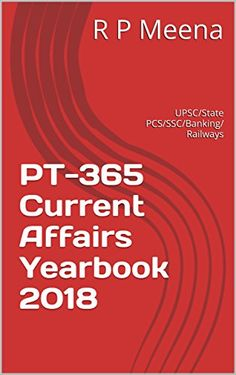 The book Current Affairs 2018 captures the Most Important Events, Issues, Ideas and People of 2017-18 in a very lucid ans student friendl...