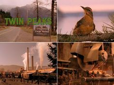 Twin Peaks title sequence