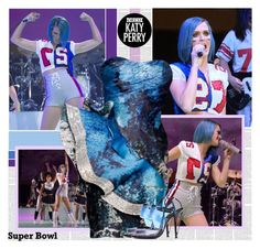 """""""Dress Katy Perry for the Super Bowl"""" by bklana ❤ liked on Polyvore featuring Christian Siriano, Fendi, katyperry, superbowl, SuperBowlParty and superbowllook"""