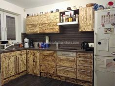 Giving new life to the repurposed wood pallets is not only great because the thing that can't be used for any purpose can be turned...