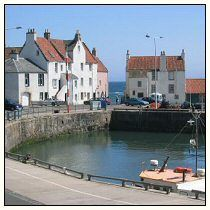 A view from the harbor NE in Pittenweem, Scotland.  This is a great little village with my favorite arts festival in the summer!