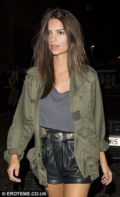 Emily Ratajkowski hits the Chiltern Firehouse with boyfriend Jeff Magid | Daily Mail Online