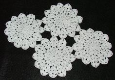 Simply Elegant Crochet Lace Motif - Joining Together Crochet Geek