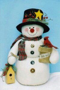 Your place where you can buy and sell everything handmade – christmas decorations Felt Snowman, Frosty The Snowmen, Snowman Crafts, Snowman Ornaments, Xmas Crafts, Diy Christmas Ornaments, Decor Crafts, Diy And Crafts, Crafts For Kids