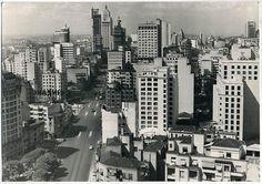 Avenida São João em 1958