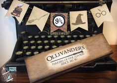 Harry Potter Wand Boxes / Ollivanders wand box by MyPorchPrints