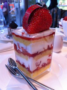 #Strawberry shortcake done right. #mmm #delicious #dessert